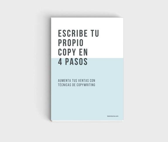 Escribe tu propio copy